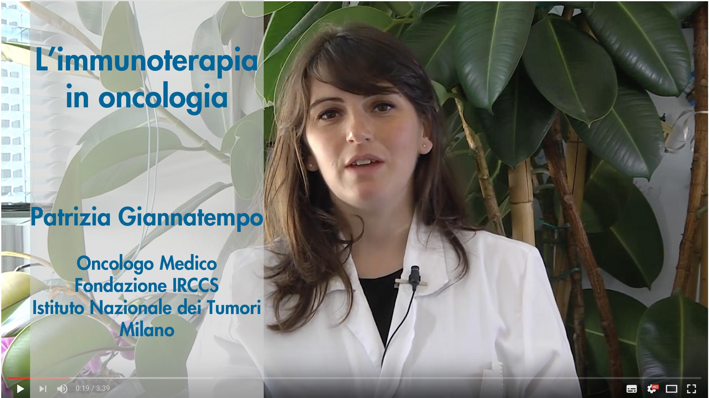 video oncologia giannatempo